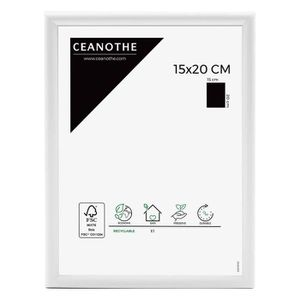 CADRE PHOTO Cadre photo Expo blanc 15x20 cm - Ceanothe, marque