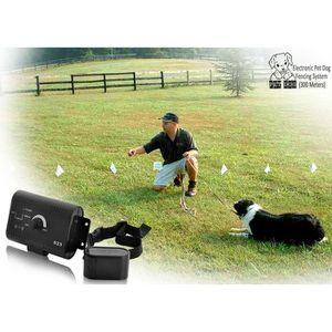 ANTI-FUGUE - CLOTURE Kit cloture pour chiens animal pro confort + bo…