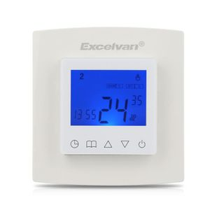 THERMOSTAT D'AMBIANCE Excelvan Thermostat d'ambiance Programmable Connec