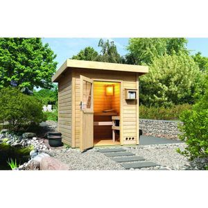 sauna ext rieur achat vente sauna ext rieur pas cher. Black Bedroom Furniture Sets. Home Design Ideas