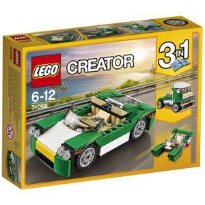 ASSEMBLAGE CONSTRUCTION LEGO® Creator 31056 Décapotable verte