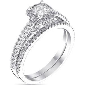 ALLIANCE - SOLITAIRE Solitaire Alliance Or Blanc et Diamants 0,52 carat