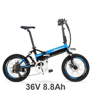 VÉLO PLIANT Vélo électrique 7 vitesses, 20 pouces, 36V / 240W,