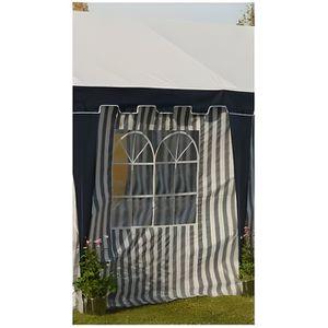 TONNELLE - BARNUM Mur fenêtre tente de réception 2 x 2 m