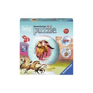 PUZZLE Puzzle 3D - Puzzleball Cheval Spirit Lucky - 72 Pi