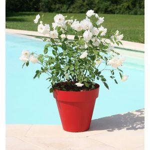 JARDINIÈRE - BAC A FLEUR RIVIERA Pot de fleurs Soleilla - Rond - Ø 49 x 44,