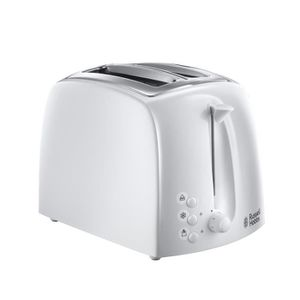 GRILLE-PAIN - TOASTER RUSSELL HOBBS Textures 21640-56 Grille-pain - Blan