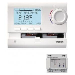 THERMOSTAT D'AMBIANCE Thermostat d'ambiance programmable RAMSES 833 t...