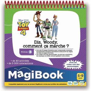 LIVRE INTERACTIF ENFANT VTECH - MAGIBOOK - TOY STORY 4 - Dis Woody, Commen