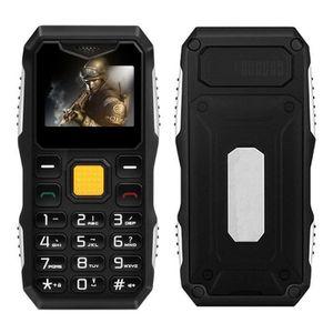 Téléphone portable Téléphone de chantier 1' 2G portable mobile étanch