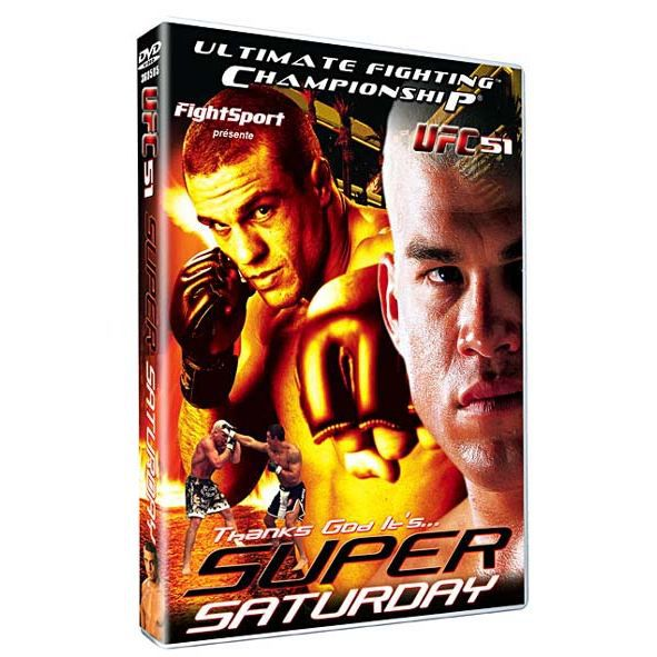 DVD Ufc 51 super saturday