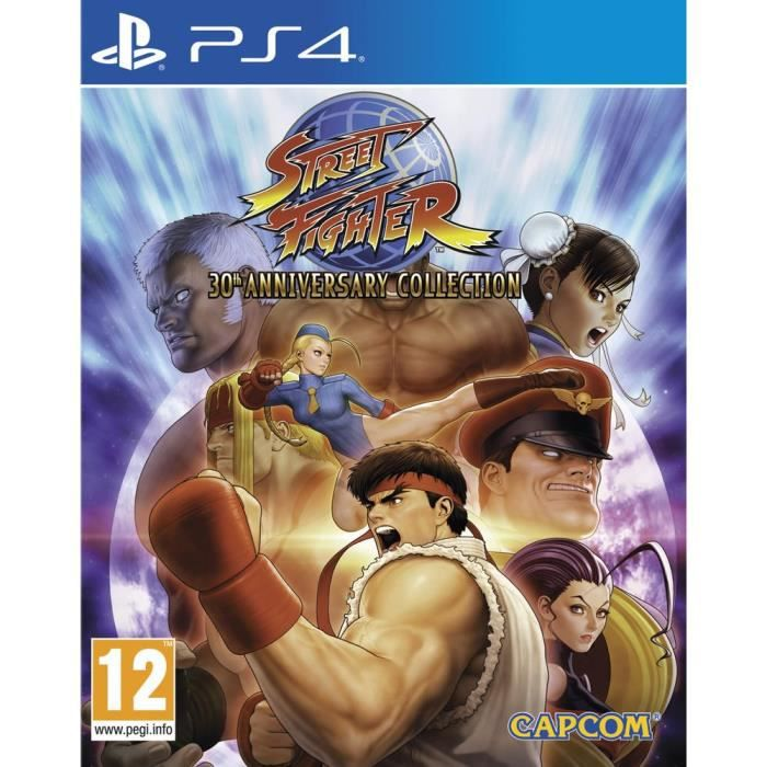 Street Fighter 30th Anniversary Collection Jeu PS4