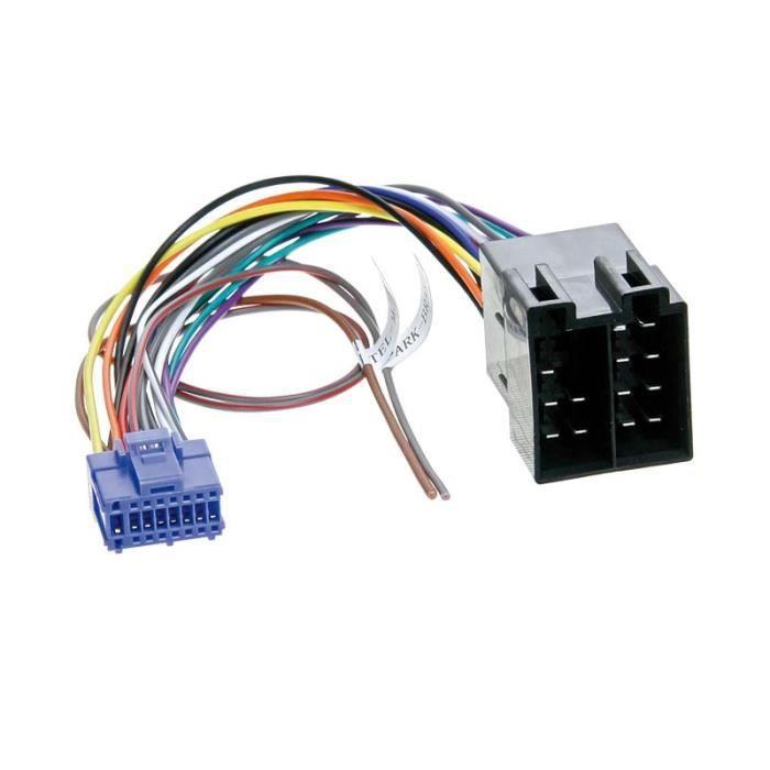 Adaptateur autoradio cable->ISO Pioneer 16 PIN AVIC-X1/R/BT