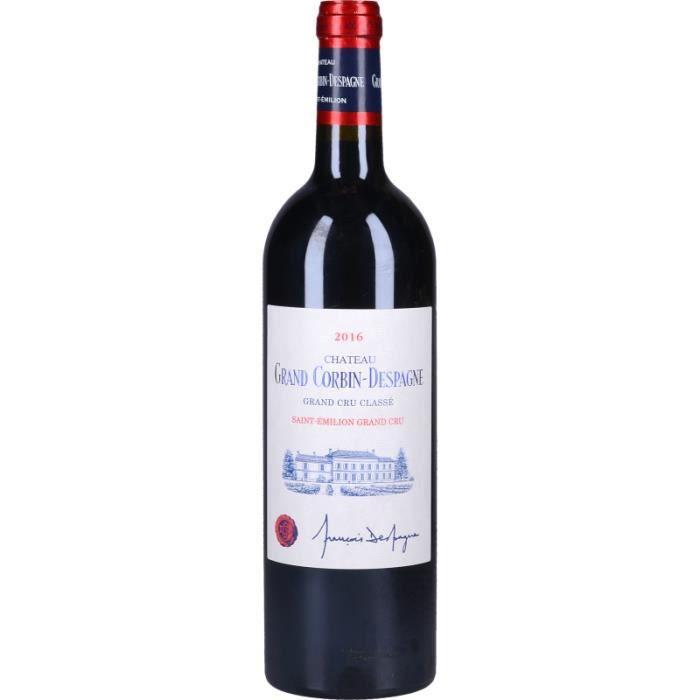 Vin Rouge - Château Grand Corbin-Despagne 2016 - Bouteille 75cl
