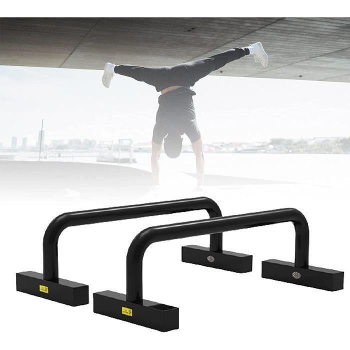 PUSH UP BARS Perfect Push Up Musculation Professionnels Acier Parallettes de Fitness Gymnastique Calisthenics Barres Paralle573