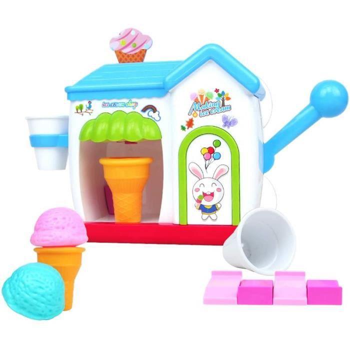 Le bain de bébé yoptote Jouet de Bain Moussant Machine à Glaces Enfants Douche Jeu Bain Bébé Creme Bulle Convient pour P 923595