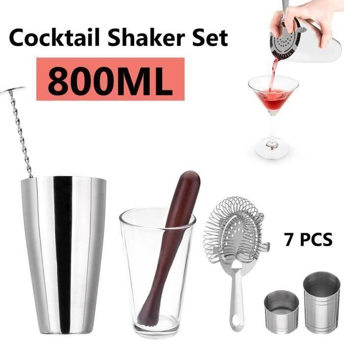Cocktail de 800ml pour le cocktail set de Boston @KK