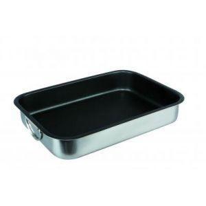 Plat a rotir inox 35x26x6.5 cm