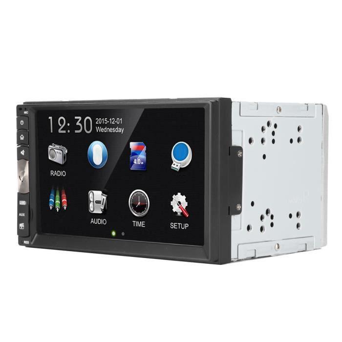 YOSOO MP5 Bluetooth Lecteur MP5 de Voiture HD 7po Multimédia Radio FM 2Din Écran Tactile Numérique USB/Carte Mémoire/Bluetooth