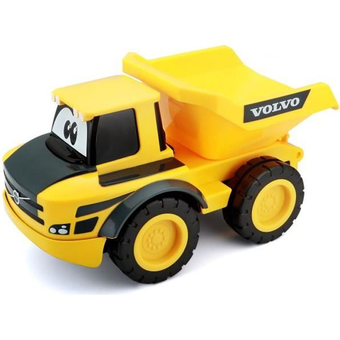 BB JUNIOR Véhicule radiocommandé BB Junior 1er âge Camion de chantier Volvo
