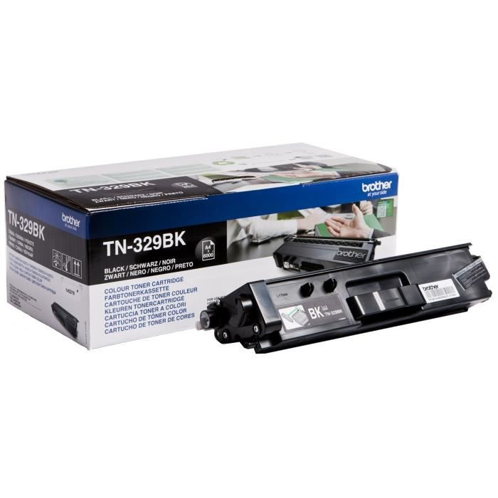 Brother Tn 329Bk Toner Laser Noir
