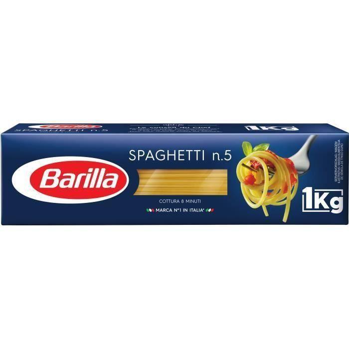 [LOT DE 3] Spaghetti n°5 1kg Barilla