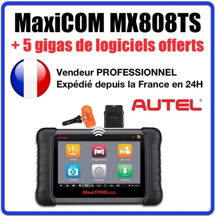 Version Française officielle AUTEL MX808TS 100 % originale - MK808 DS708 DS808