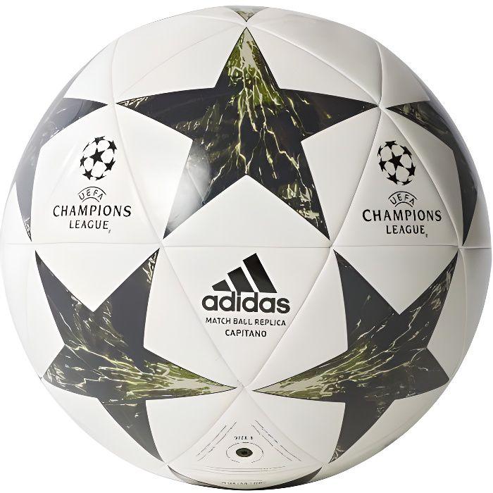 Adidas - ADIDAS FOOTBALL - BALLON FINALE 17 CAPITANO JUVENTUS DE TURIN - (blanc - 5)