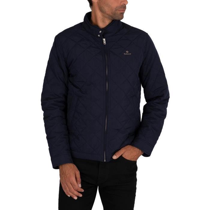 Gant Veste matelassée coupe-vent - Bleu - Homme
