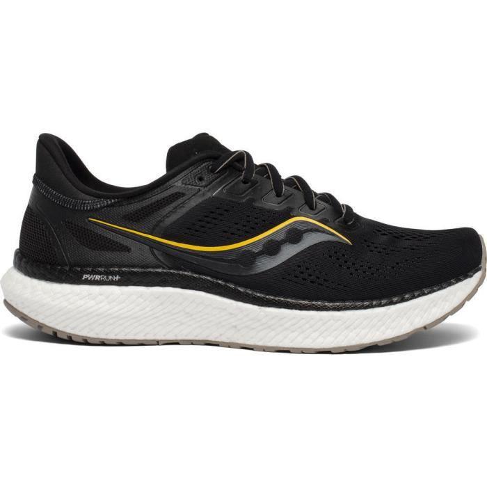 Chaussures de running Saucony hurricane 23 - noir/orange - 50