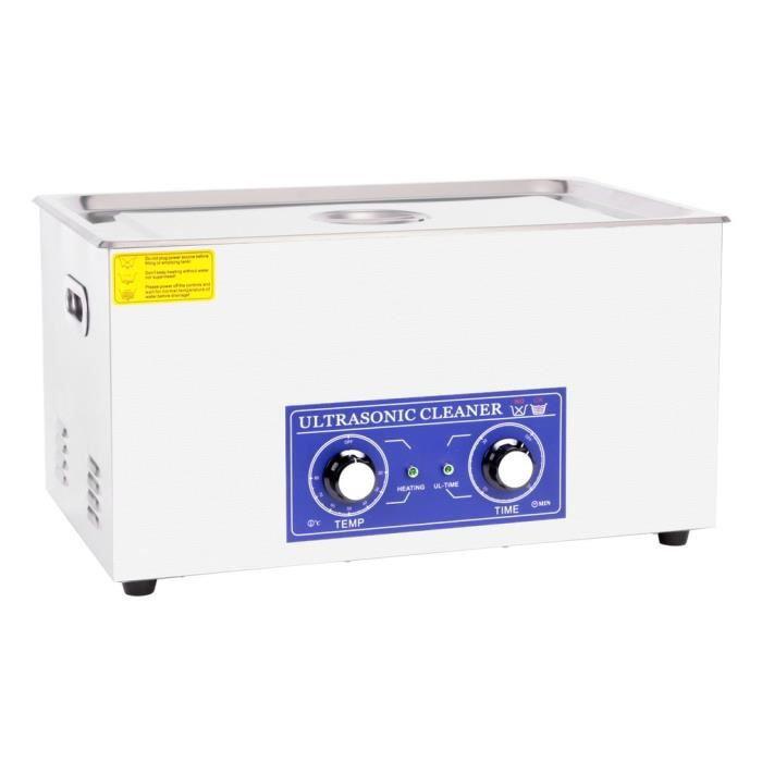 Nettoyeur à ultrasons industriel de machine de nettoyage de ultrasonique 22L