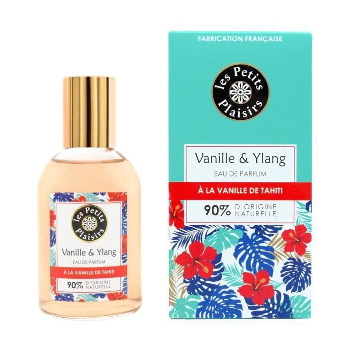 LES PETITS PLAISIRS Eau de parfum - Vanille de Tahiti & Ylang - 90% d'origine naturelle - 100 ml