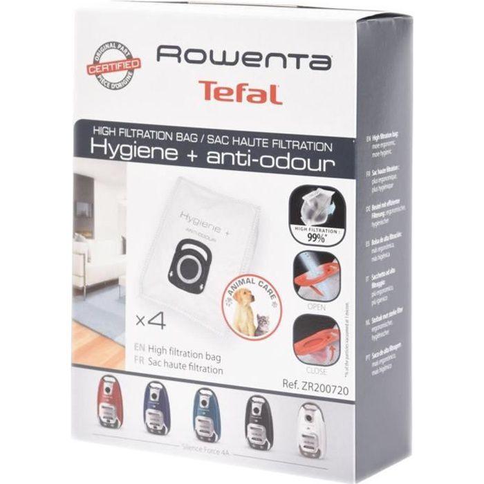 Boite de 4 sacs haute filtration - Aspirateur - ROWENTA (34128)