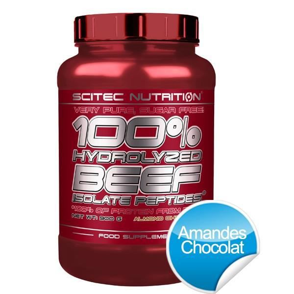100% HYDROLYZED BEEF ISOLATE PEPTIDES - 900g - ...