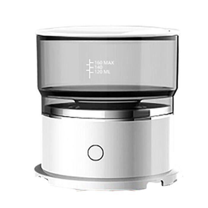 Mini CafetièRe Automatique, Machine à Filtre à Café éLectrique RéUtilisable Portative, Pot de Goutteur de Café