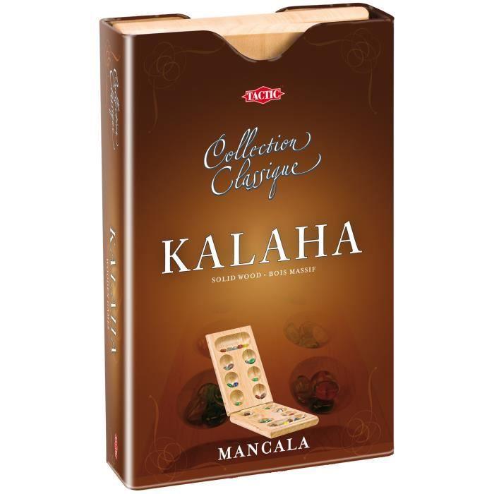 Tactic Collection Classique Kalaha, Stratégie, Enfants et adultes, 15 min, Garçon-Fille, 2 année(s), 2 année(s)