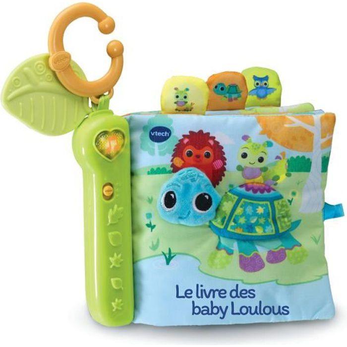 Vtech Baby - Livre interactif toudoux des Loulous - 6 - 36 mois