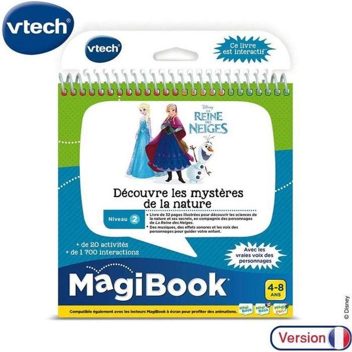 VTECH - MagiBook - La Reine des Neiges - Découvre les mystères de la nature