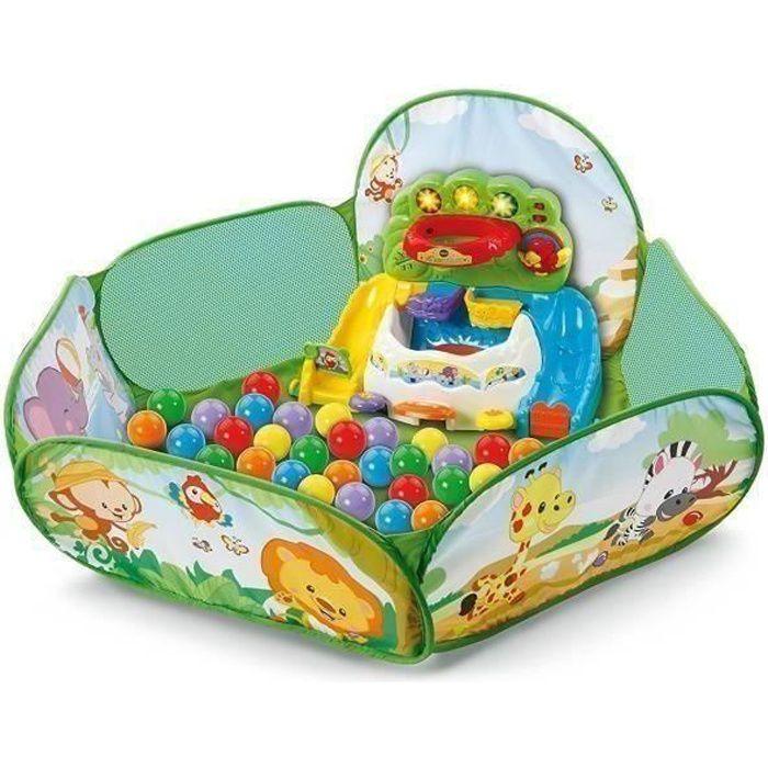 VTECH BABY - Ma piscine à balles interactive Pop'Balles