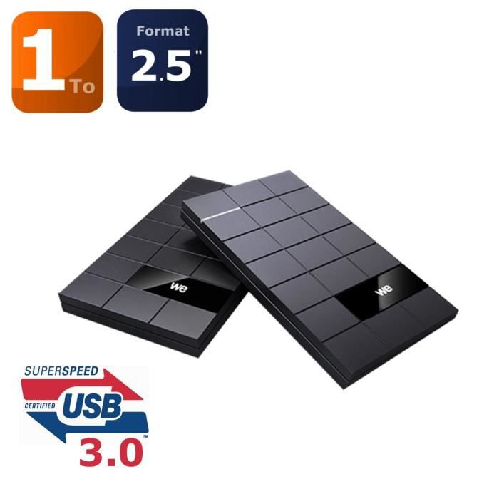 WE V3 disque dur externe 2.5'' 1To