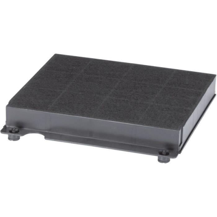 Filtre à charbon antiodeurs compatible Wpro Type 15 - 225 x 210 x 30 mm - 300g/m² CHF15/1