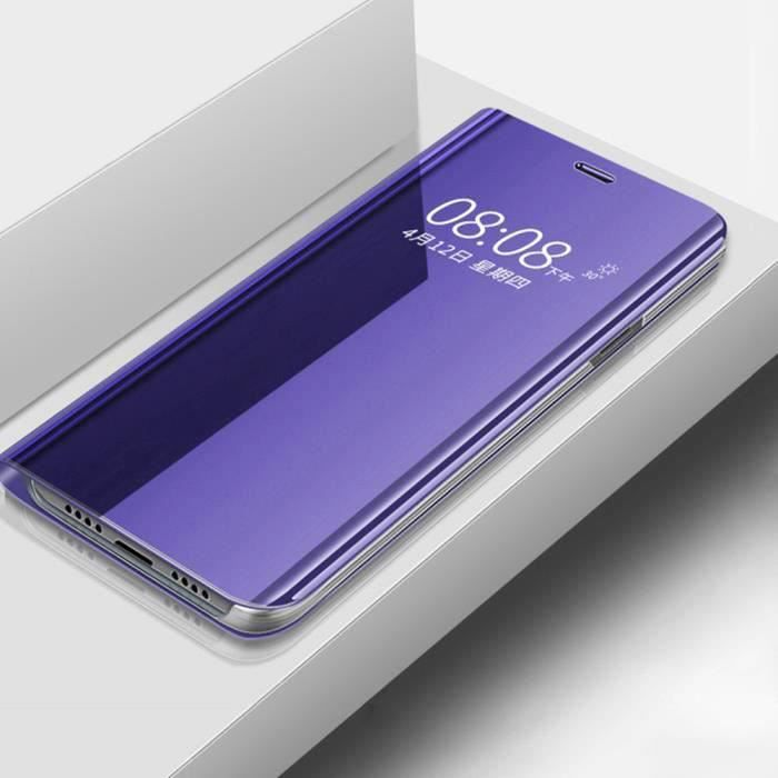 HOUSSE - ÉTUI Étui Huawei Nova 5T, Clear View Miroir Translucide