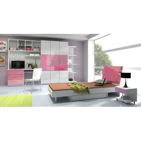 Chambre a coucher complete laura mdf achat vente chambre compl te chambre - Chambre a coucher cdiscount ...