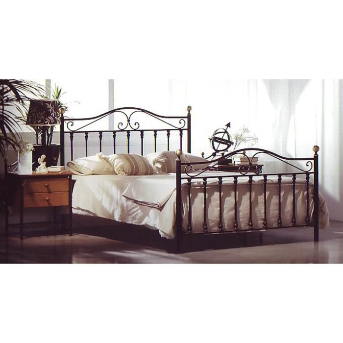 lit en fer forg mod le afrique achat vente. Black Bedroom Furniture Sets. Home Design Ideas