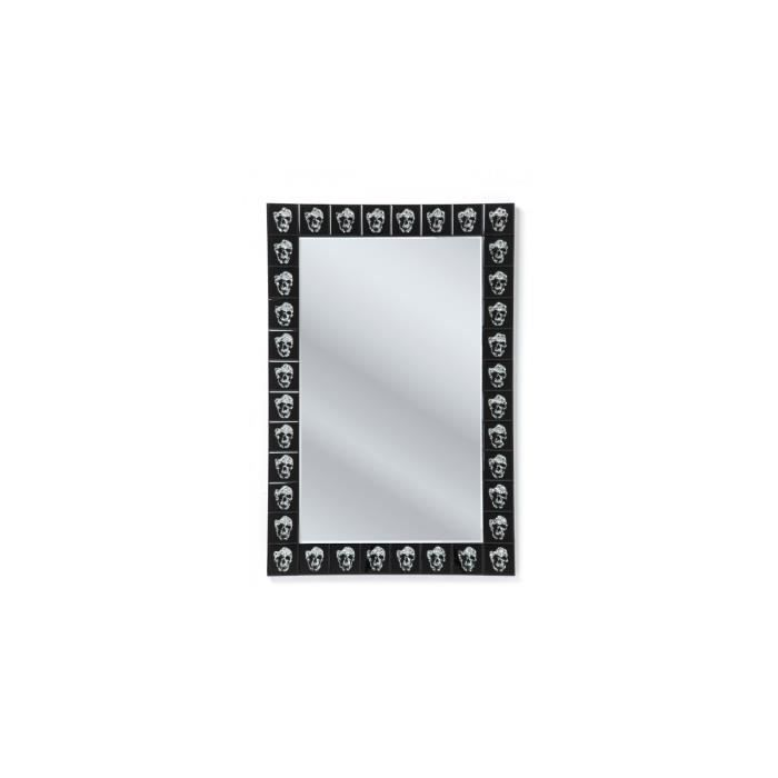 Miroir skull movie 120x80 kare design achat vente for Miroir miroir film
