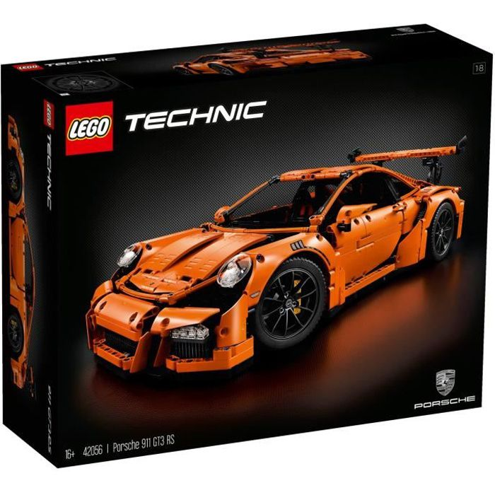 lego technic 42056 porsche 911 gt3 rs achat vente assemblage construction cdiscount. Black Bedroom Furniture Sets. Home Design Ideas
