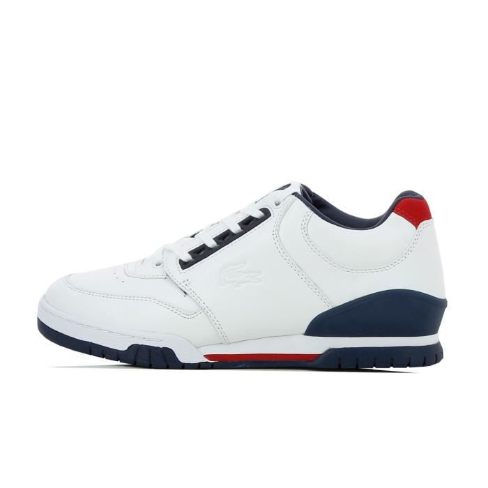 ac36e4498fe Basket Lacoste Indiana 116 1 CAM - 731CAM0115001 Blanc Blanc - Achat ...