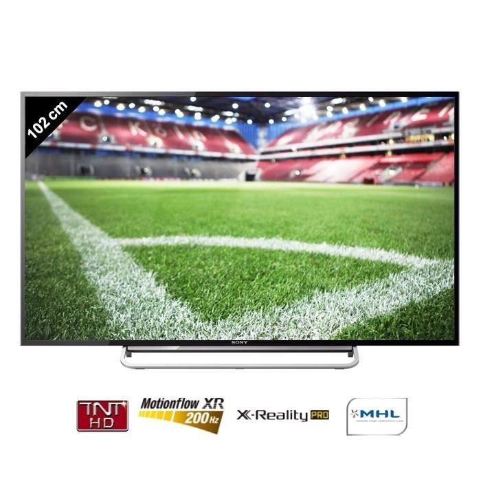 sony bravia kdl40w605 tv connect e 102 cm t l viseur led avis et prix pas cher soldes. Black Bedroom Furniture Sets. Home Design Ideas