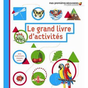 LIVRE 0-3 ANS ÉVEIL Le grand livre d'activités 2-5 ans