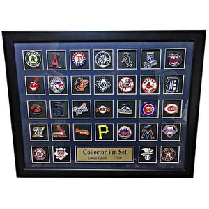 PINCE A CRAVATE MLB Team Logo Collector encadrée Pin - Édition lim